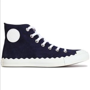 Chloe scalloped Kyle High top sneakers 38